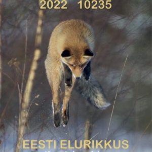 Loodusmehe kalender 2022 esikaas